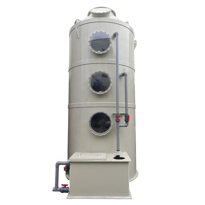 Industrial Environmental Friendly equipment Acid & Alkali Gas disposal- Wet Scrubber