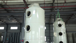 Odor Removing System Air Pollution Control Device To Remove Pollutants for Wet Scrubber