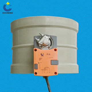 Air Control Damper Constant Air Volume Valve Electric Valve