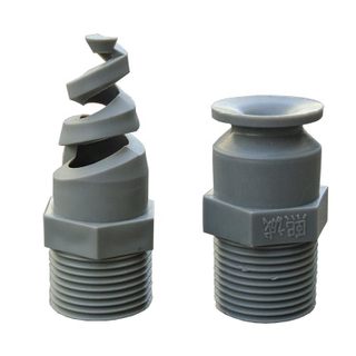 Grey ultrasonic plastic spray nozzle for cooling tower spray nozzle,plastic mist spray nozzle