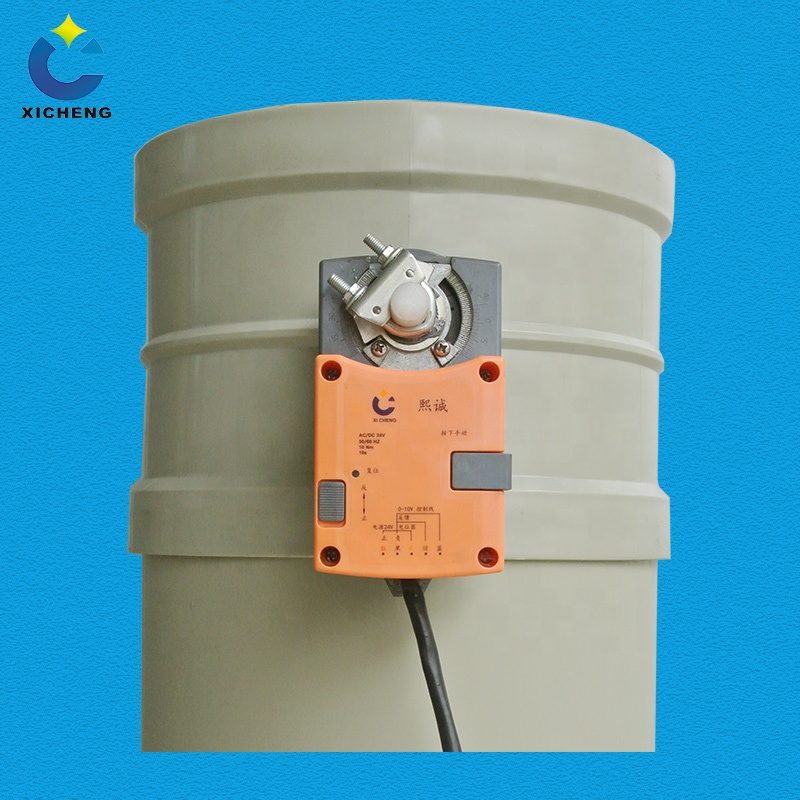 Ventilation duct fittings customized PP constant air volume valve