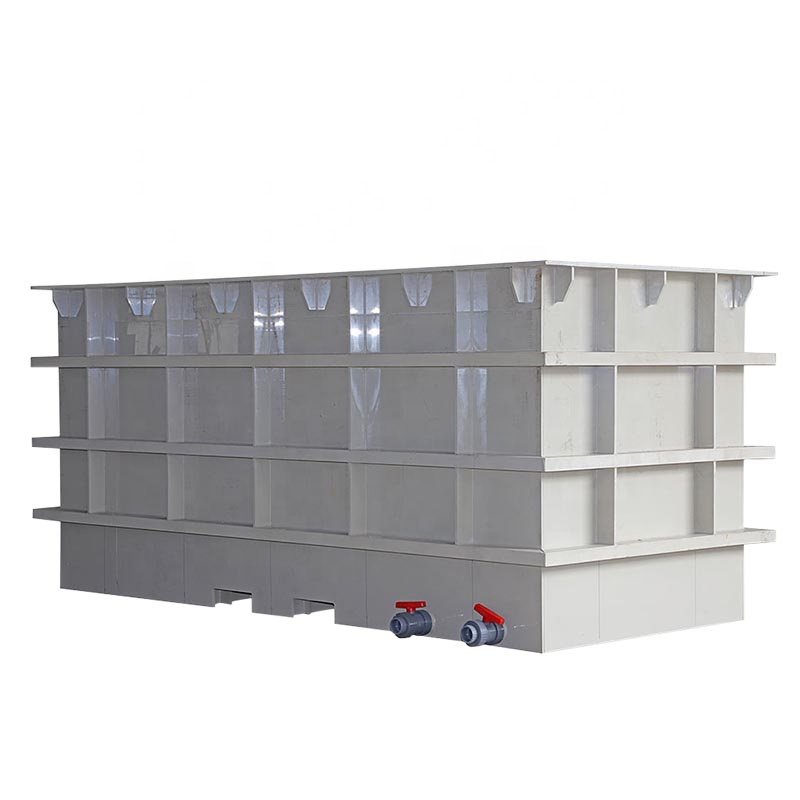 100% PP Raw Material Material Elecplating Tanks with Custom Made Sizes of Water Tank