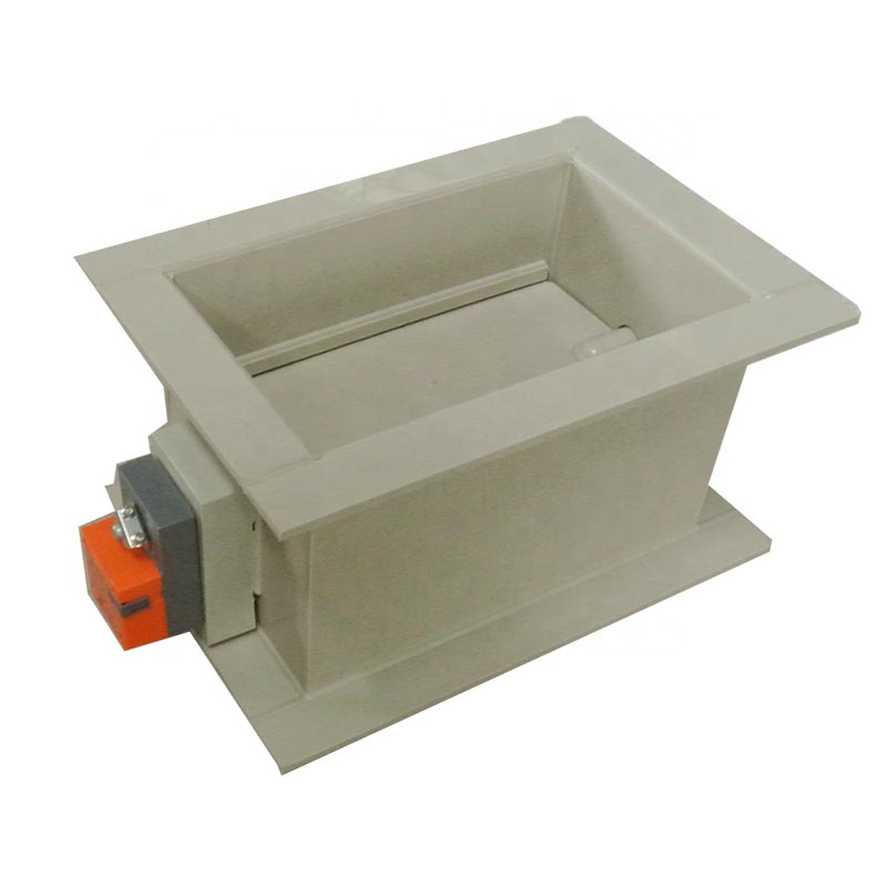 Laboratory Ventilation System PP Material Motorized Air Damper