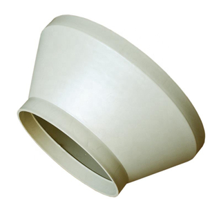 Plastic Ventilation PP Exhaust Pipe Fitting Reducer