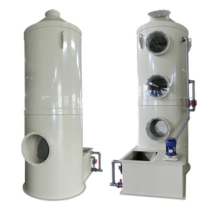 Pp purification tower/Waste gas scrubber tower Acid Mist Purification