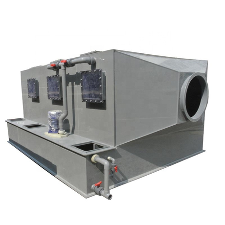 Horizontal Type Flue Gas Desulfurization Air Pollution Control Devices Wet Scrubber