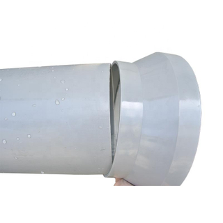 Plastic large pipe reducers custom made support pipe fitting