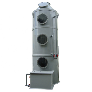 Effective Dust Collector PP Wet Scrubber for Instrial waste gas treatment