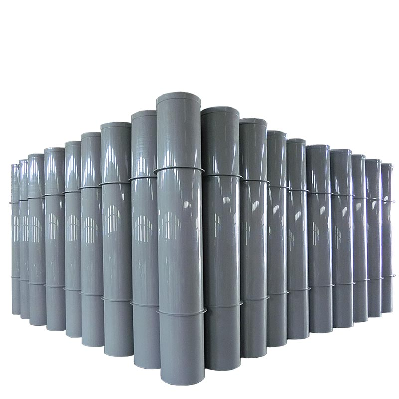 Customized Pp Air Duct Pipe Plastic Round Ventilation Air Duct /tube Ventil Plastic Air Pipe for Wast Gas Treatment